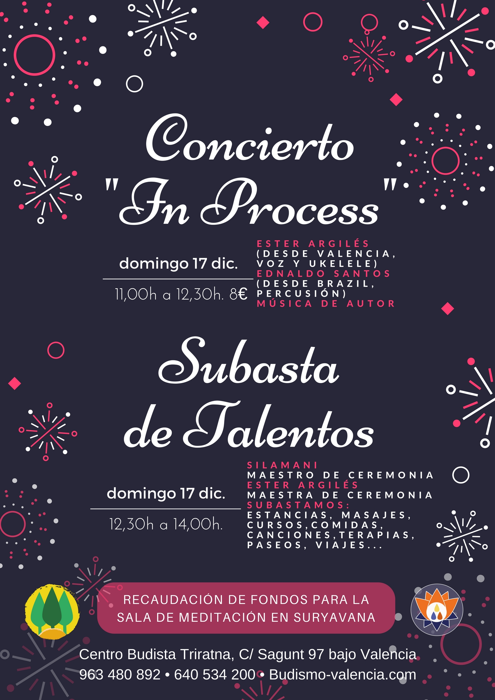 concierto y subasta