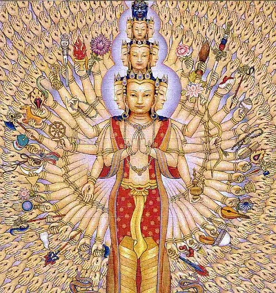 Avalokiteshvara de 1000 abrazos