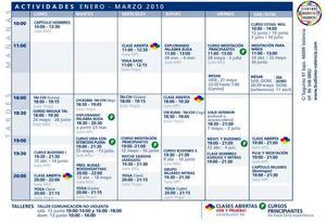 Tabla de actividades del meses de abril mayo junio 2010 tabla urtaz Choice Image